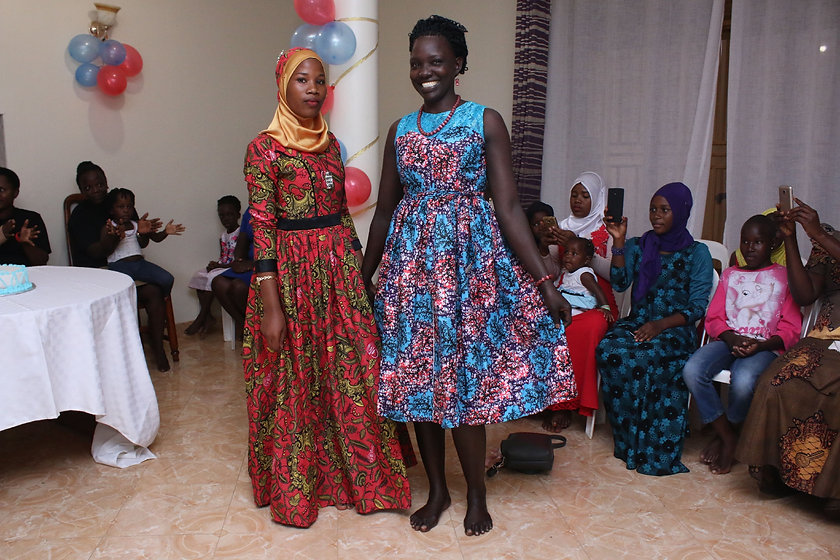 BEST- ZAINABU & JESCA SHOWCASING THEIR H