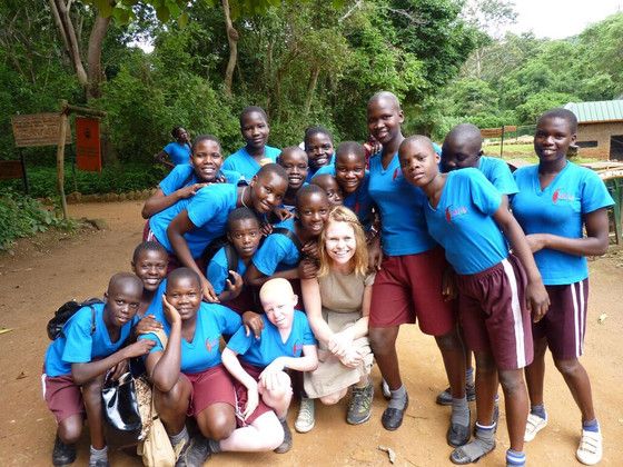 2015 Graduation at the Entebbe Zoo