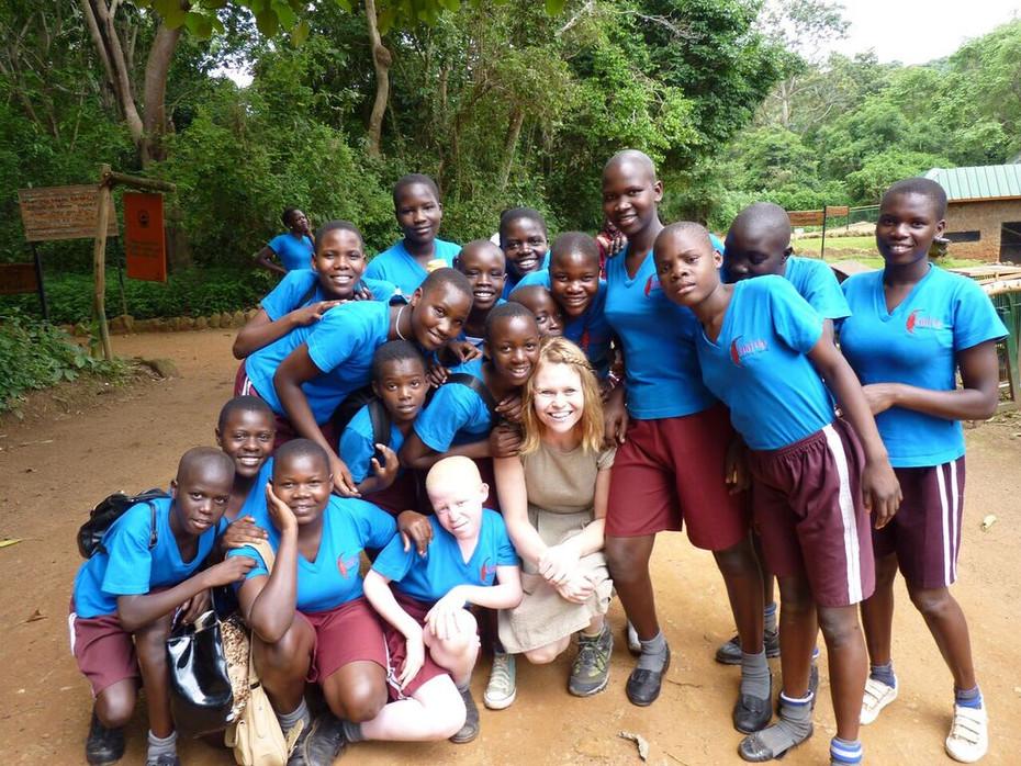 2015 Graduation at the Entebbe Zoo