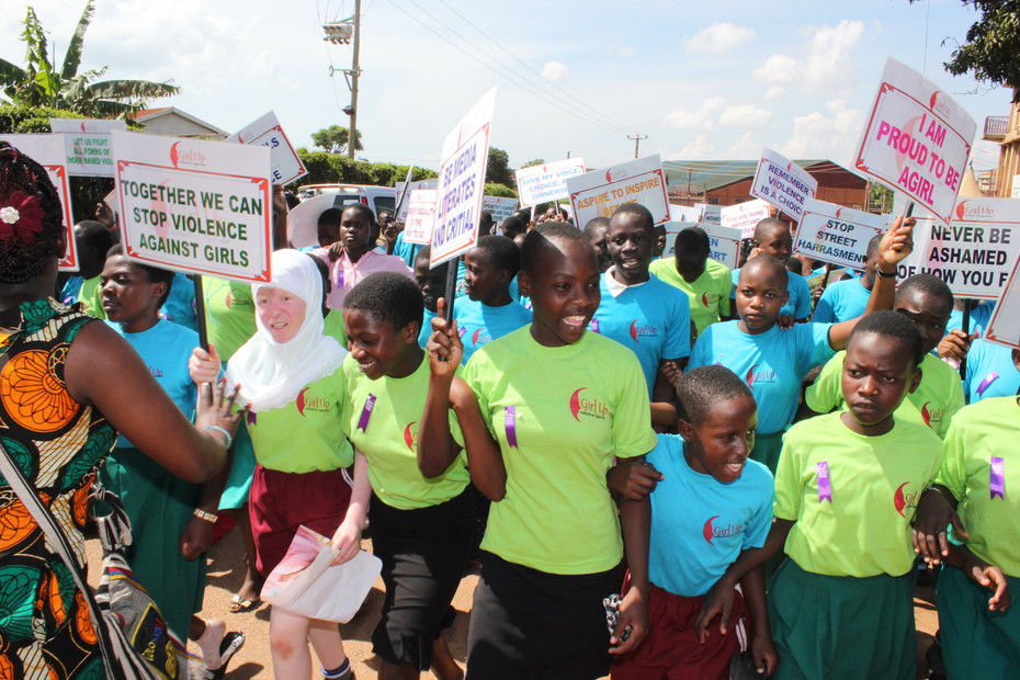 16 Days of Activism and Graduation Day for Girl Up Girls