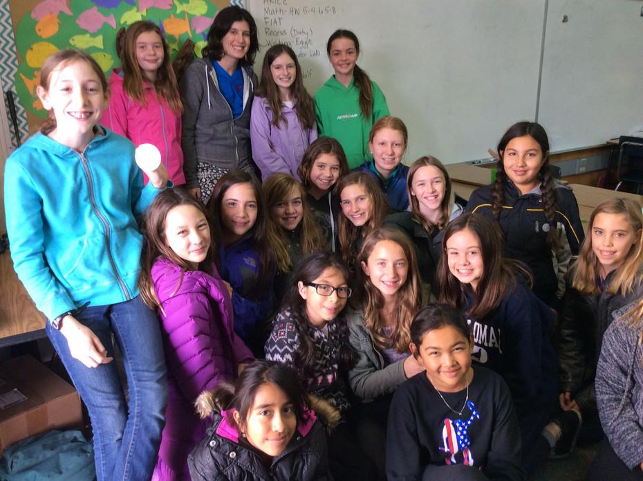Girl Up Uganda partnership with Santa Barbara school