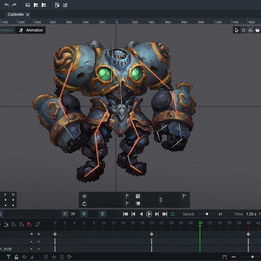Masterclass animación 2D con Dragonbones