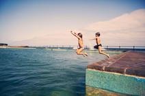 Playas y piscinas naturales