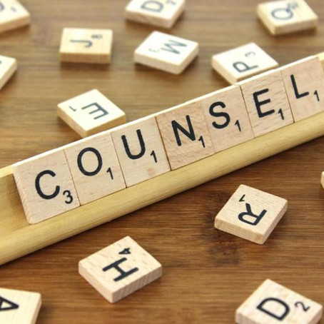 Counsel someone.