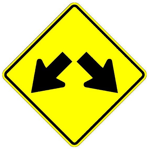 WD36 Double Arrow Signboard