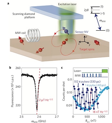 11. Nanoscale magnetic imaging of a single electron spin under ambient conditions