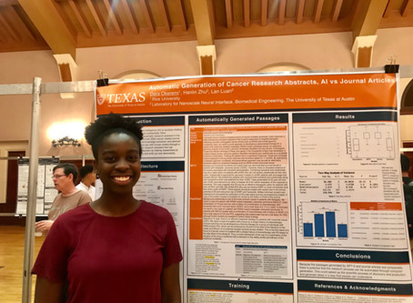 Luan lab at UT hosted a REU student