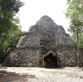 Watch tower in coba