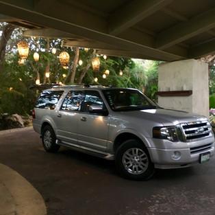 Luxury private ride