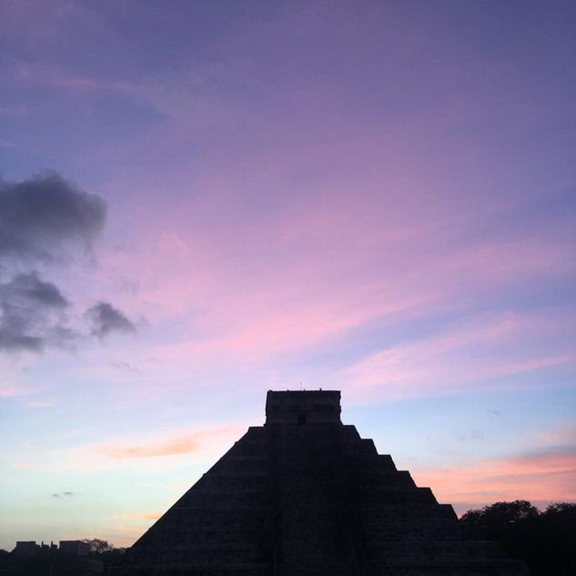 Sunrise on kukulkan