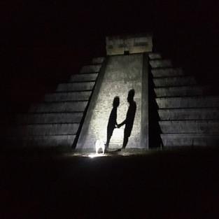 In chichen alone by night