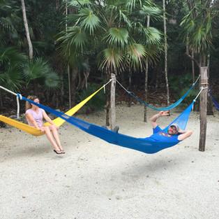 Resting in tankah