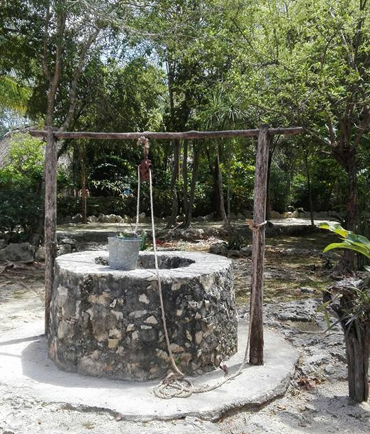 The well in the village
