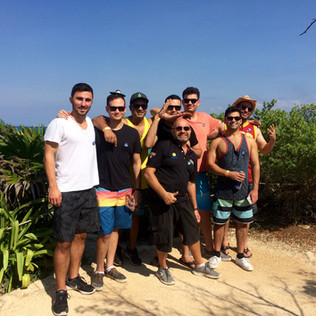 bachelor tour in tulum