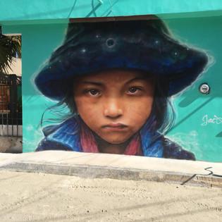 Murals in holbox