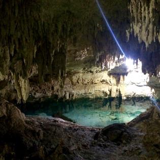 Cavern cenote