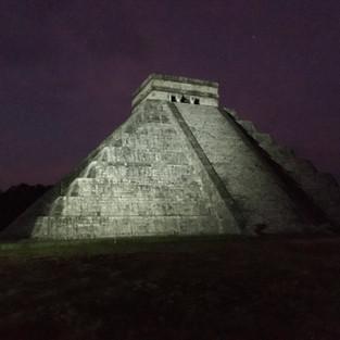 Kukulcan by night