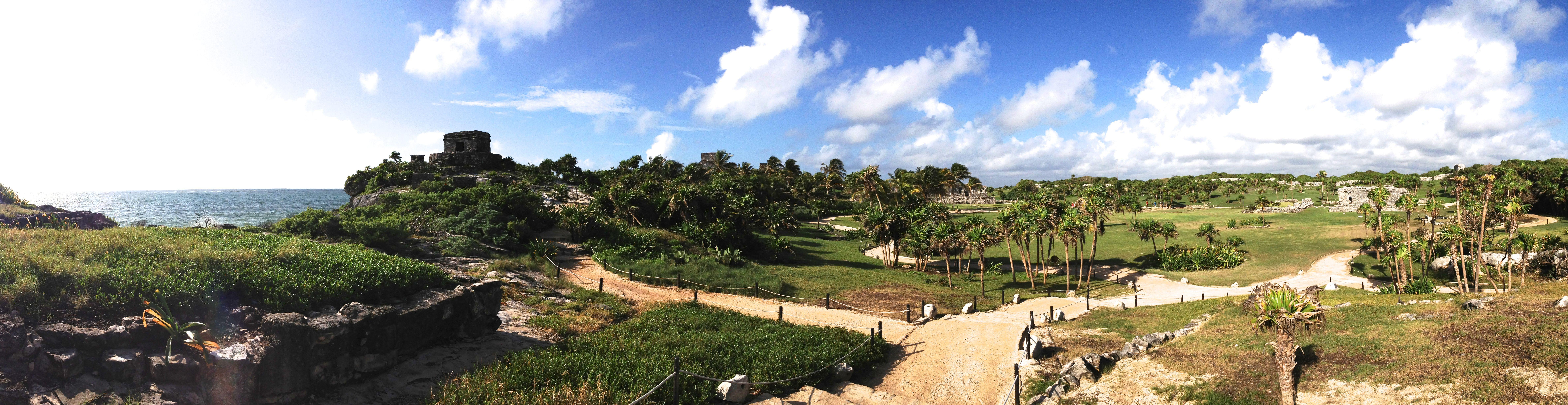 panorama of tulum
