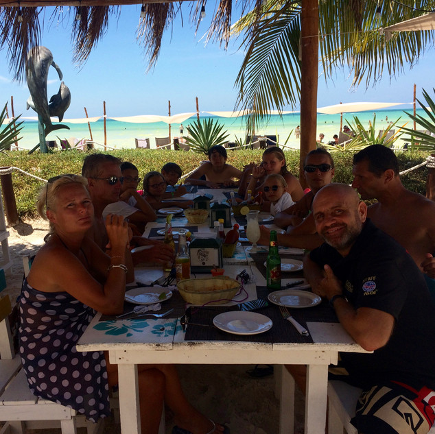 Lunch in Holbox