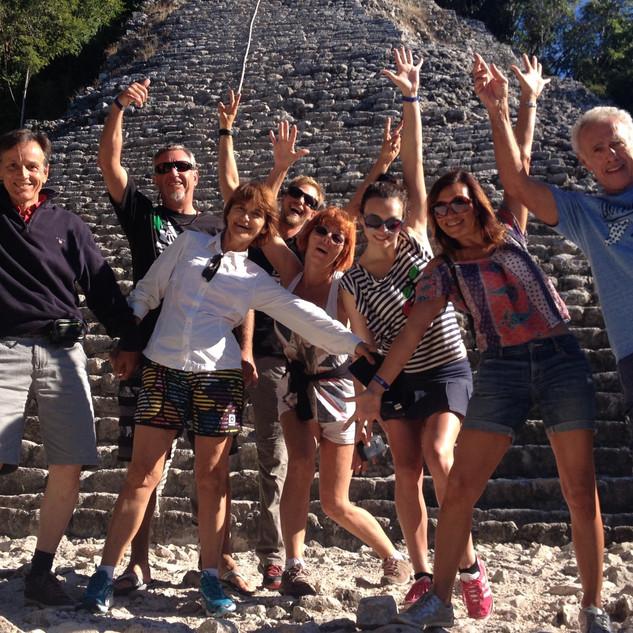 Coba private family trip