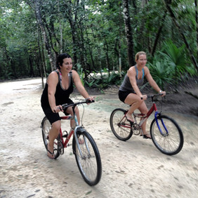 Cycling in Coba