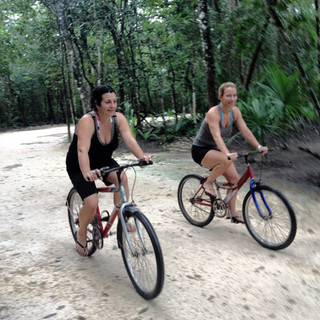 Cycling in the Jungle