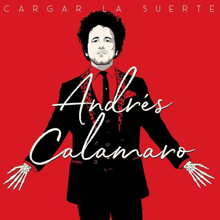 Cargar La Suerte – Nuevo Album del Icono Argentino Andrés Calamaro