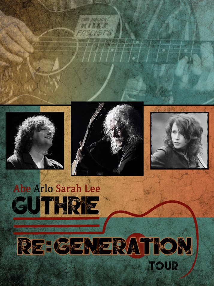 Arlo Guthrie Brings his Re:Generation  Tour to the Crest Theater in Sacramento