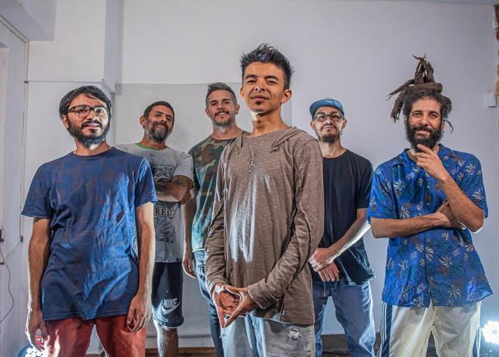 La banda Argentino-Chilena de Reggae y Hip-Hop Zona Ganjah presenta Sesiones CC Records
