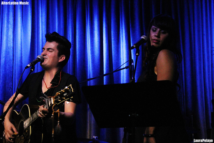 Mitre and Alih Jey at The Hotel Cafe