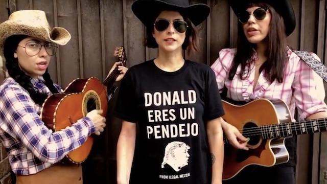 """THE MEXICAN STANDOFF  ESTRENA VIDEO TITULADO """"MURO"""" (THE WALL) UNA CRITICA AL MURO PROPUES"""