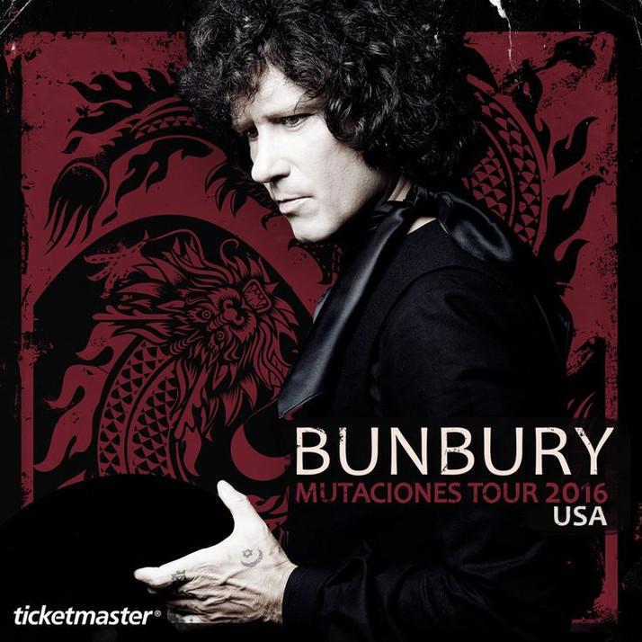 Bunbury - El Libro De Las Mutaciones en EEUU