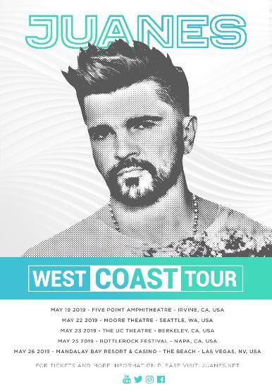 Juanes: Gira Por La Costa Oeste