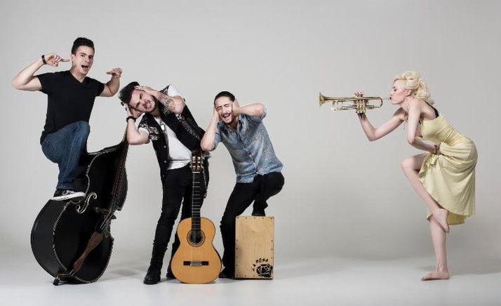 Jenny and the Mexicats on a Mission to Conquer The U.S.