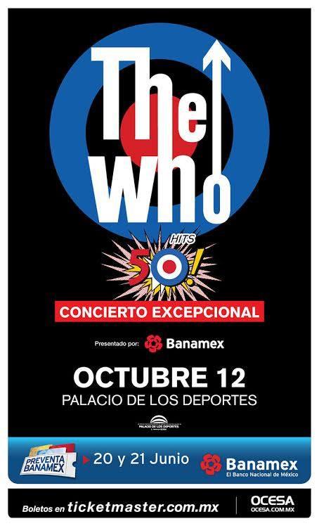 The Who, Finalmente en México