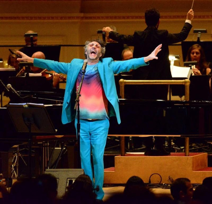 Fito Páez Hits a Career High Note, Performing at Carnegie Hall