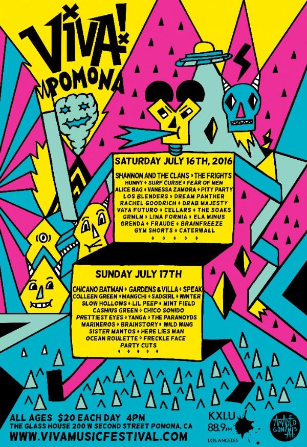 5th Annual Viva! Pomona Festival
