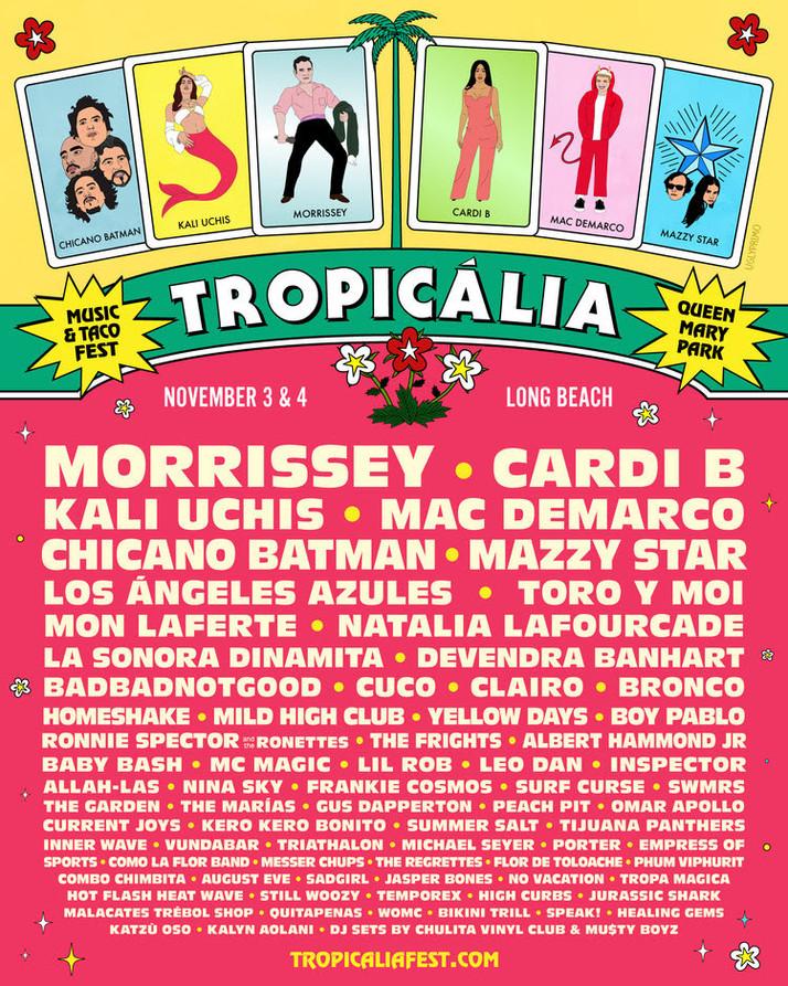 Tropicália Music & Festival 2018
