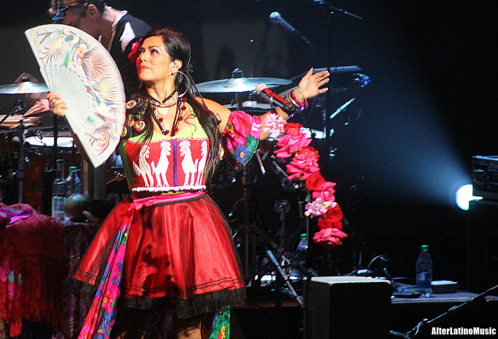 Lila Downs Brings Culture to the Dolby Theater