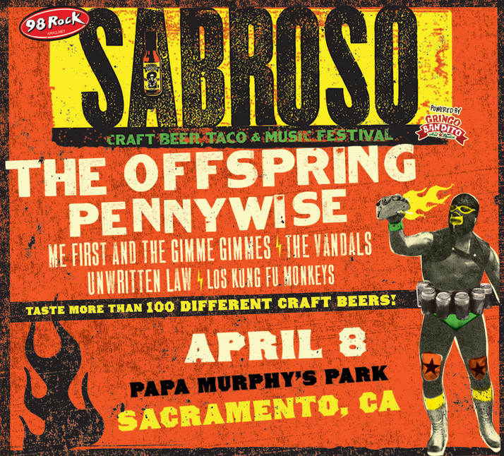 The Sabroso Craft Beer, Taco & Music Festival with The Offspring & Pennywise in Sacramento o