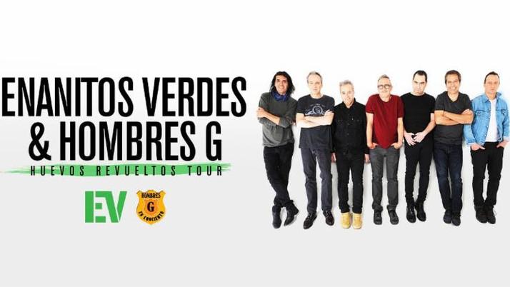 ENANITOS VERDES & HOMBRES REGRESAN CON SU GIRA HUEVOS REVUELTOS EN ESTE 2019