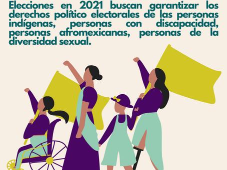 Elecciones 2021: igualdad para todas las personas