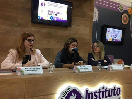 Presenta AMCEE libro sobre participación política de las mujeres