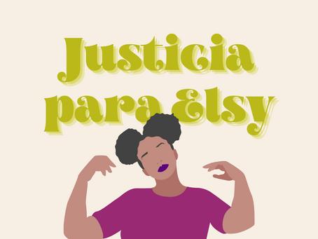 Exigen justicia para Elsy