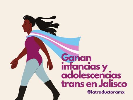 Ganan infancias y adolescencias trans
