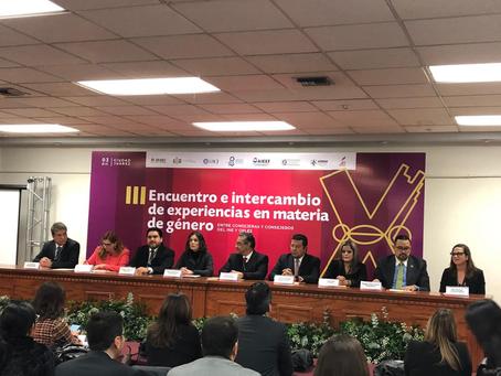 Coorganiza AMCEE 3° Encuentro Nacional de Género