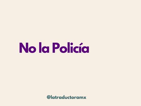 No la Policía