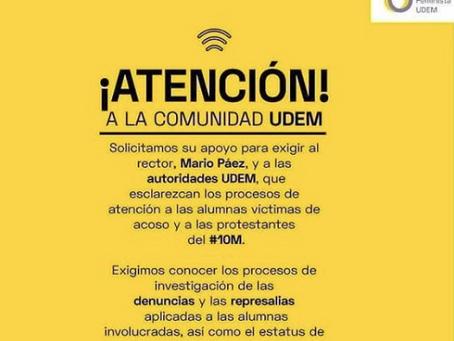 #QuéPasaUDEM