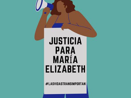 Justicia para María Elizabeth