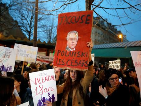 Protestan francesas por premiación de Polanski